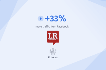 La República increases traffic from Facebook by 33%