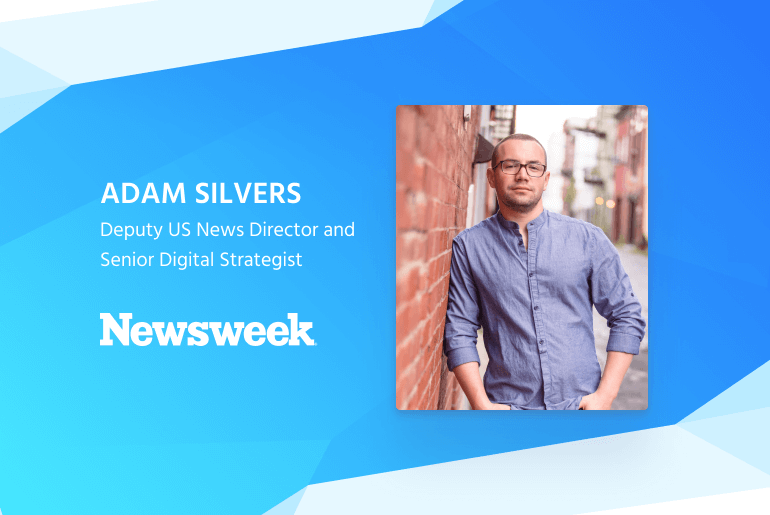 Echobox interview with Adam Silvers of Newsweek