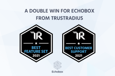 TrustRadius awards Echobox the Best Feature Set and Best Customer Support awards